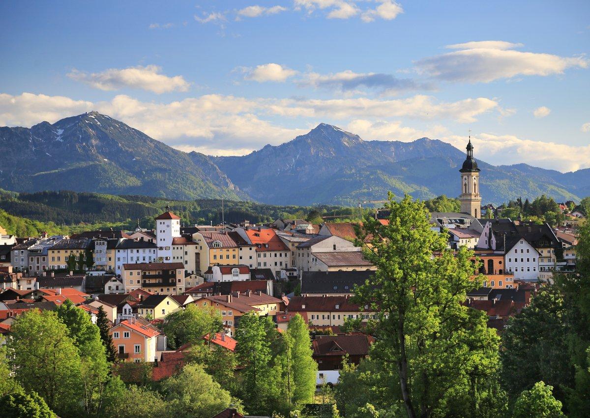 Blick über Traunstein